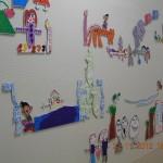 Décor mural - Centre de Soins 2 S.A.I