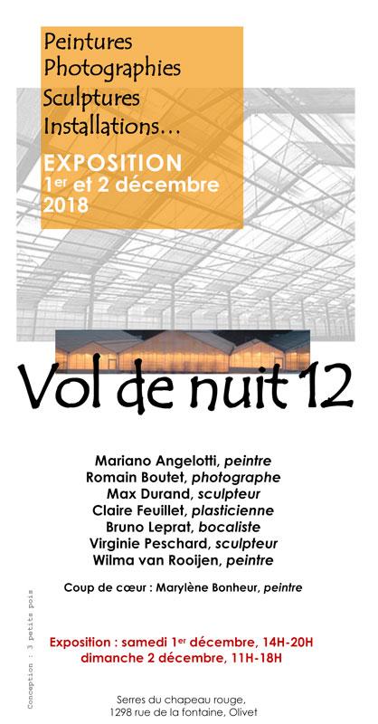 Vol de Nuit 12 - Exposition 2018
